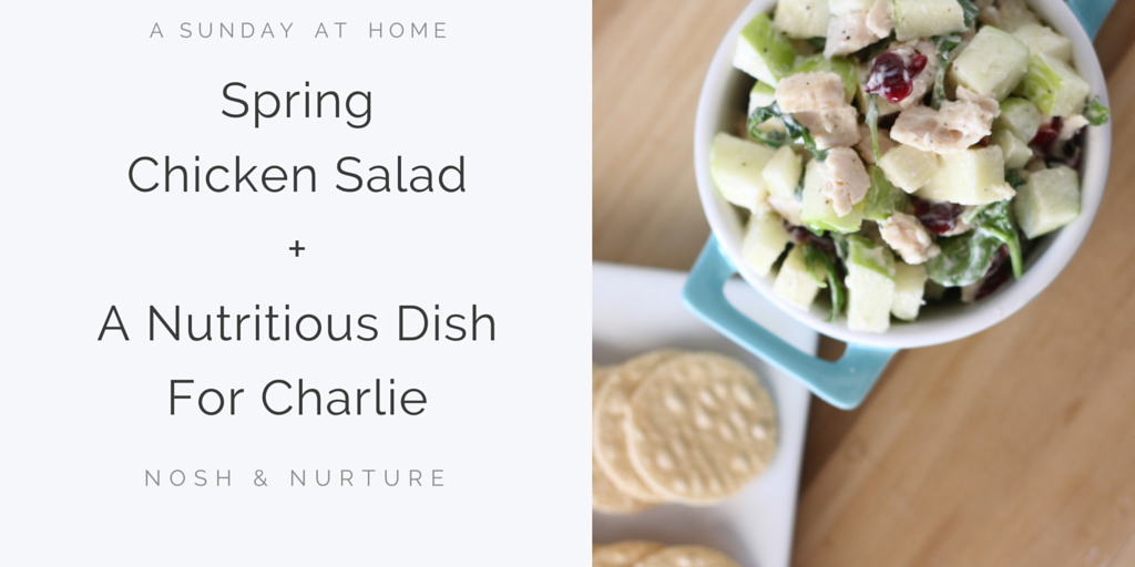 Spring Chicken Salad | Nosh and Nurture