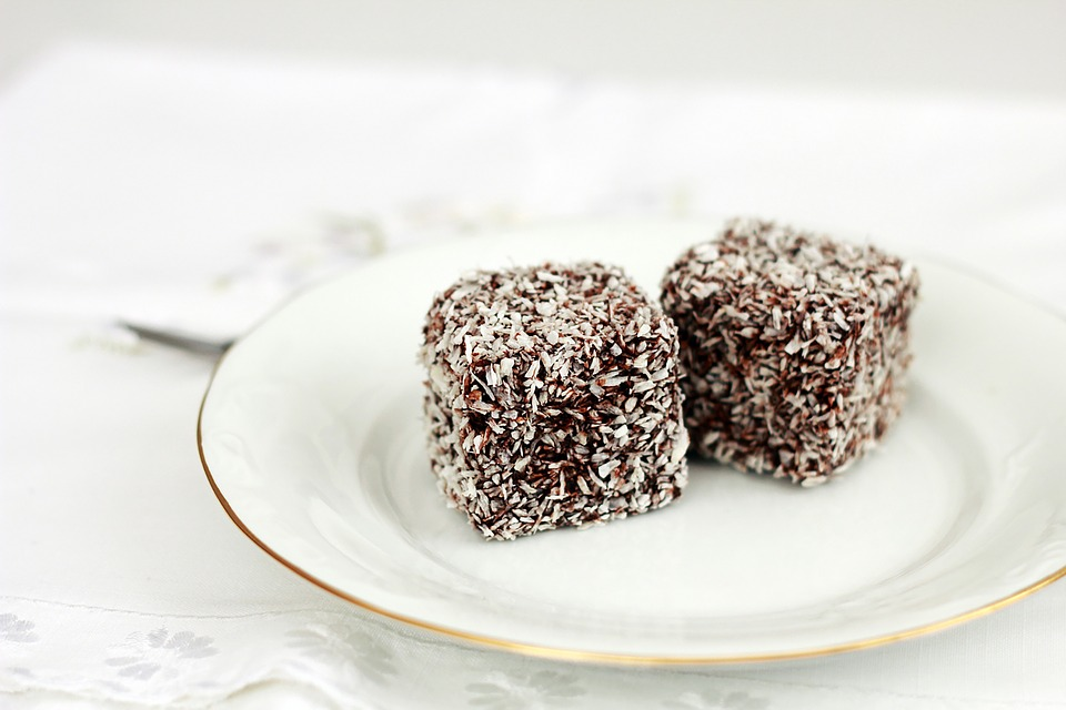 Chocolate Banana Coconut Cubes | Sweetened With Dates | Nosh and Nurture