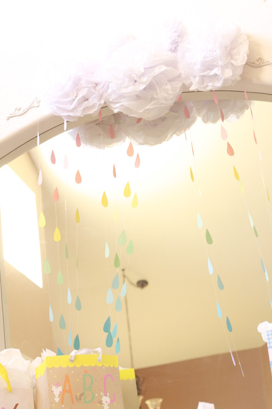 Pastel Rainbow Baby Shower