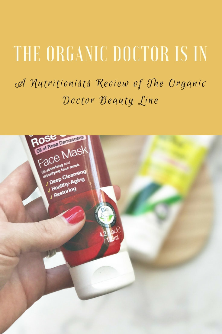 Organic Doctor Review | Nosh and Nurture | #ad #organicdoctor #findbeauty