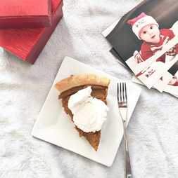 Vegan Maple Pumpkin Pie | Nosh and Nurture